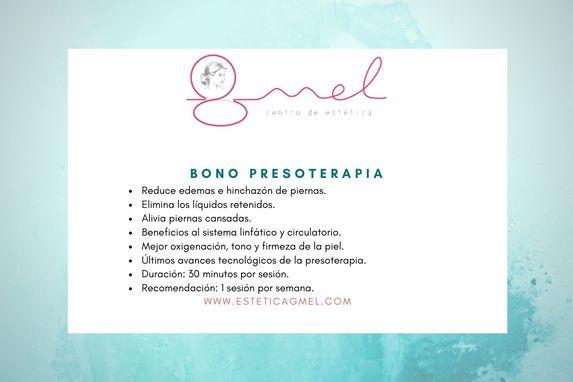 Oferta presoterapia en Pamplona estética GMEL
